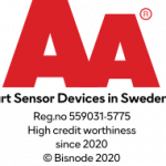 Smart Sensor Devices AB has received Bisnode's AA (double A) certificate